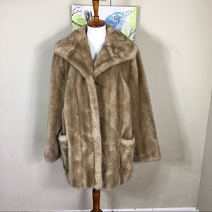 Jackets & Blazers - Tissavel Imported From France Vintage Fur Coat